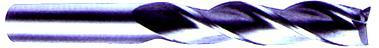 30 deg Helix - Premium Fine Grain Carbide - Center Cutting